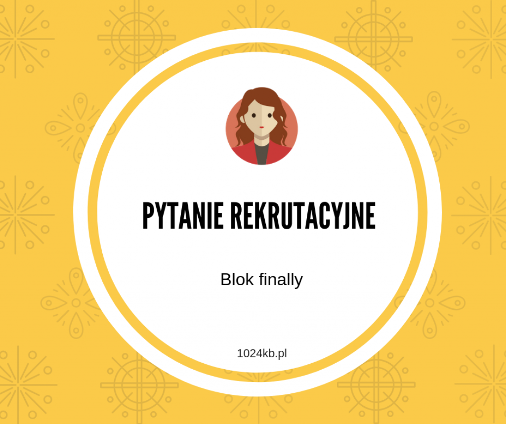 PYTANIE REKRUTACYJNE (1)